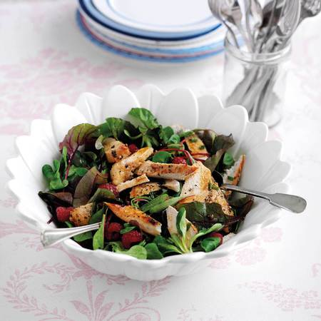 chicken and berry salad recipe