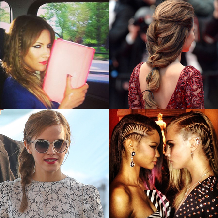 Plaits and Braids hair trend summer 2013