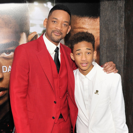 Will Smith and Jaden Smith at After Earth New York premiere