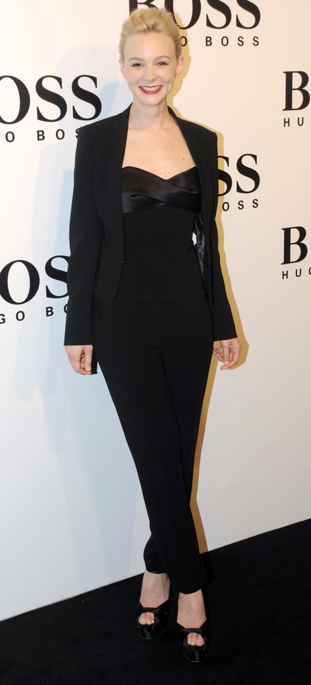 Masculine Fashion Trend Carey Mulligan