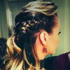 How to copy Amanda Holden's braided hairstyle
