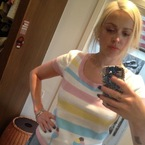 Fearne Cotton does dungarees and ice cream prints, cute