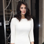 Gemma Arterton flaunts figure in white bodycon, wowee