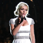 Katherine Jenkins wows in white at Memorial Day Concert
