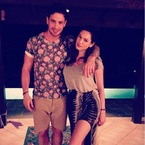 Kelly Brook & Danny Cipriani let their holiday wardrobes rule