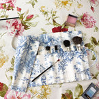 DIY Make your own makeup brush roll