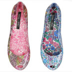 Get 15% off Melissa Women's Liberty Print Ultragirl Pumps