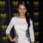 Michelle Keegan is cream of the crop in lace at Lipsy Awards