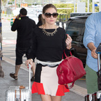 SHOP! Olivia Palermo's flirty Zara skirt