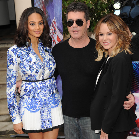 Britain's Got Talent judges Simon Cowell, Amanda Holden and Alesha Dixon