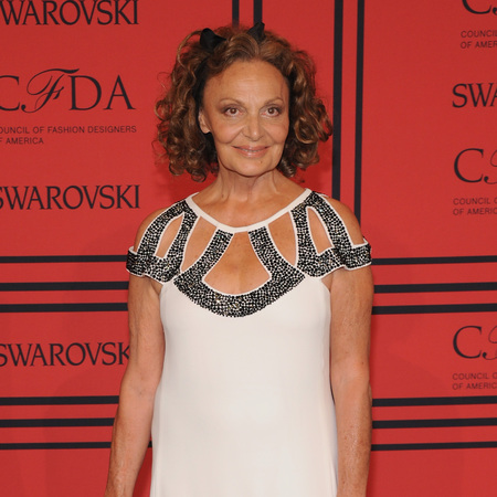Diane Von Furstenberg at CFDA Fashion Awards