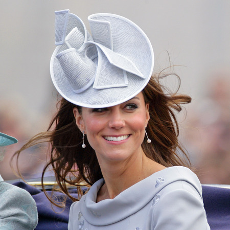 Kate Middleton's wedding hat style continues