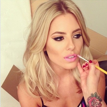 Mollie King does summer hair and beauty on Instagram