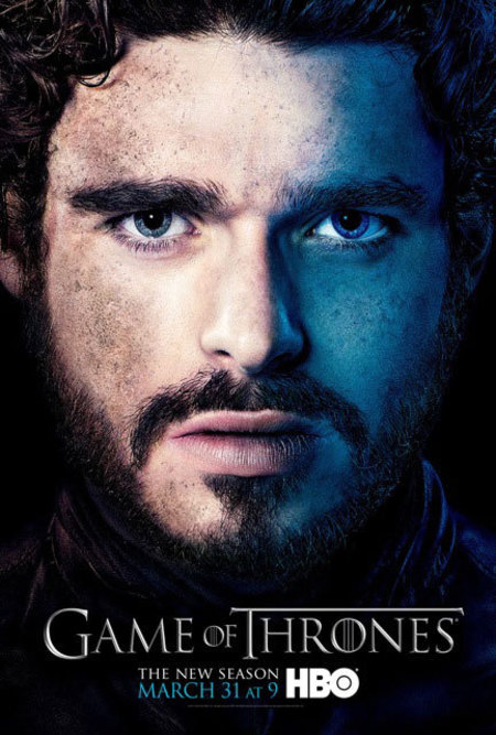 Game of Thrones Season 3 promo poster Robb Stark