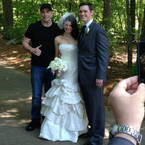John Travolta crashes couple's wedding photos