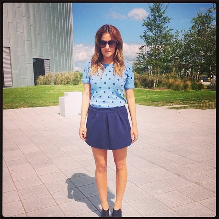 Caroline Flack X Factor wardrobe