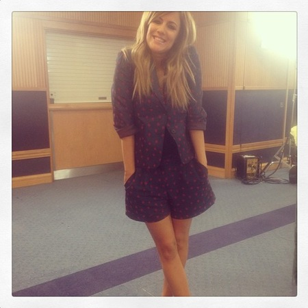 Caroline Flack behind the scenes look at X Factor 2013 wardrobe