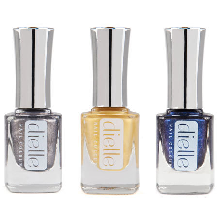 Dielle metallics nail colour
