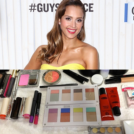 Jessica Alba's makeup from Spike TV Guys Choice Awards