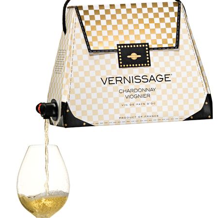 Vernissage wine handbags