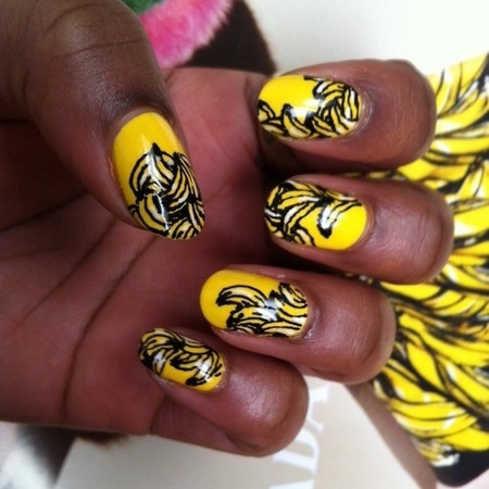 These nails are bananas