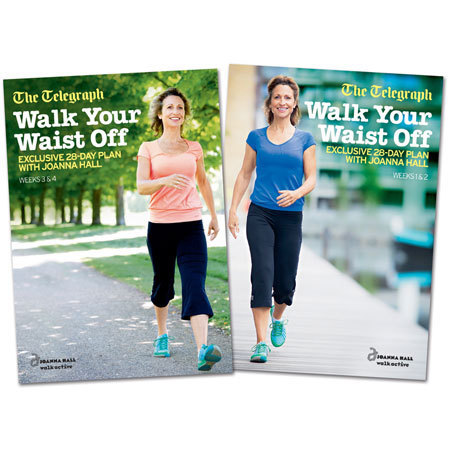 Walk Your Waist Off 28-day plan, Joanna Hall