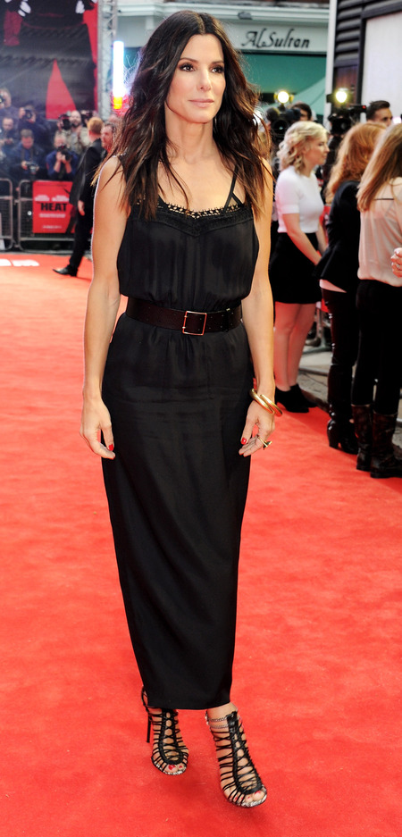 Sandra Bullock wearing Victoria Beckham