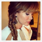 How to do a fishtail plait like Amanda Holden's