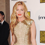 Cat Deeley goes for dress gold at Critics' Choice TV Awards