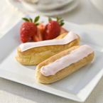 Dessert Recipe: Strawberry Éclairs