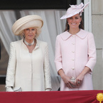 Kate Middleton does baby pink for Trooping the Colour