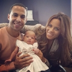 Rochelle Humes explains Alaia-Mai name choice