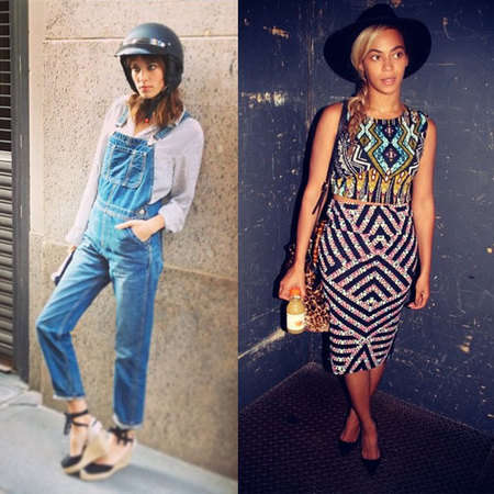 Beyoncé v Alexa Chung in Topshop fashion fight