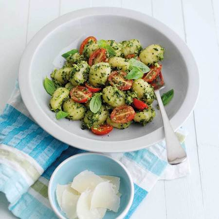 Gnocchi with Hass Avocado Pesto
