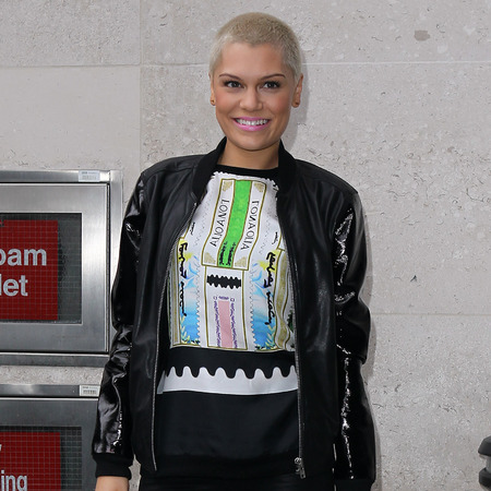 Jessie J outside The Voice live final rehearsal