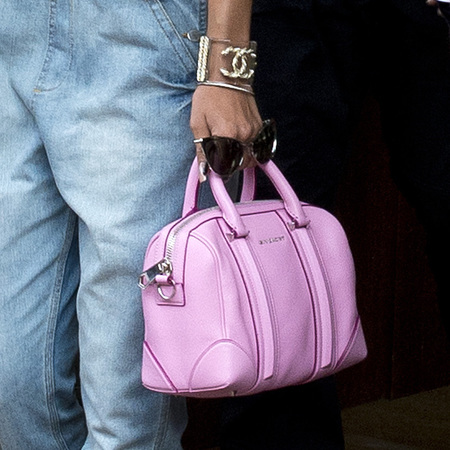 Pink Givenchy tote bag
