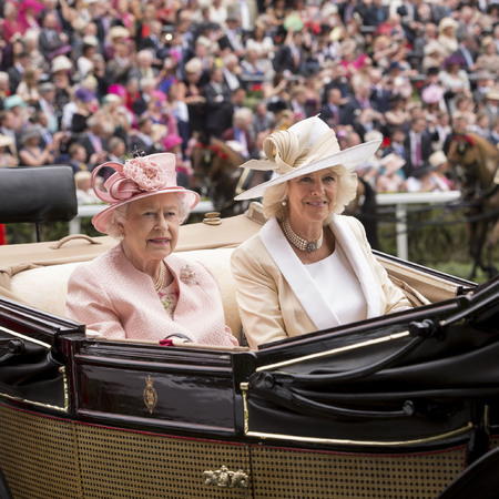 Royal Ascot 2013 The Queen, Camilla and Prince Charles