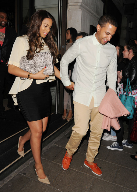 Rochelle Humes and Marvin Humes date night