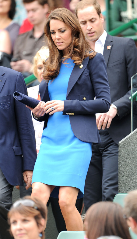 What Kate Middleton wears to Wimbledon - Celebrities at Wimbledon - handbag.com