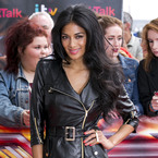 Nicole Scherzinger heats up X Factor auditions