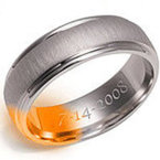 The most unromantic wedding ring ever made?