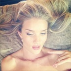 Rosie Huntington-Whiteley's Hummingbird makeup