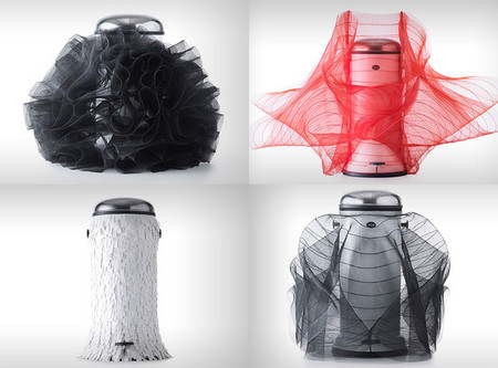 Vipp dustbins designed by Lady Gaga's costume designer
