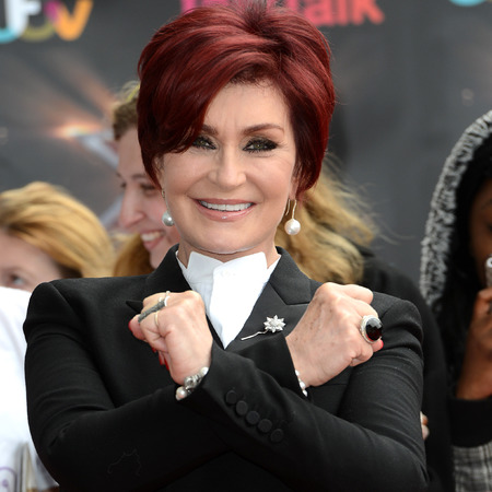 Sharon Osbourne arrives for the London auditions of 'The X Factor' at ExCel on June 19, 2013