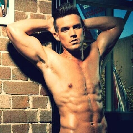 Gaz Beadle from Geordie shore