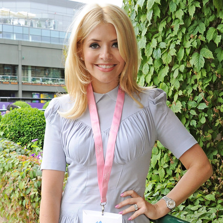 Holly Willoughby at Wimbledon Tennis Tournament