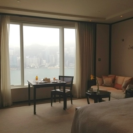 Hong Kong hotel room