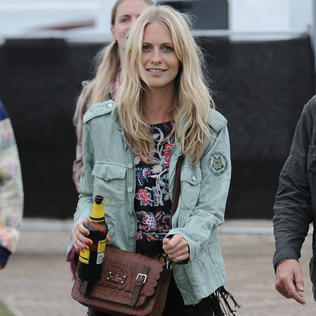 Poppy Delevingne at Glastonbury 2013