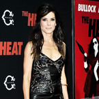 YAY OR NAY: Sandra Bullock's tight leather dress