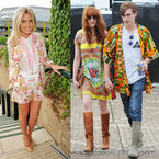 FASHION FIGHT: Glastonbury v Wimbledon